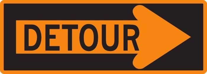 Detour-Orange